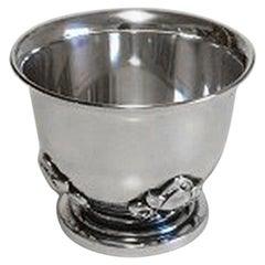 Georg Jensen Sterling Silver Acorn Egg Cup No 662
