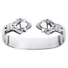 Georg Jensen Sterling Silver Acorn Napkin Ring by Johan Rohde