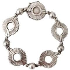 Georg Jensen Sterling Silver Art Deco Bracelet No 101