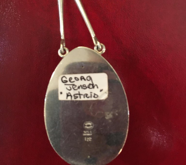 Georg Jensen Sterling Silver Astrid Pendant For Sale 1