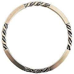 Georg Jensen Sterling Silver Bangle/Bracelet #17C
