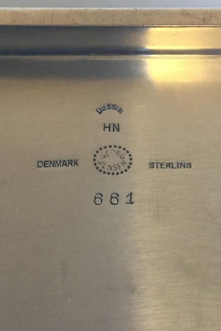 georg jensen sterling silver boks no 661 for sale at 1stdibs. Black Bedroom Furniture Sets. Home Design Ideas
