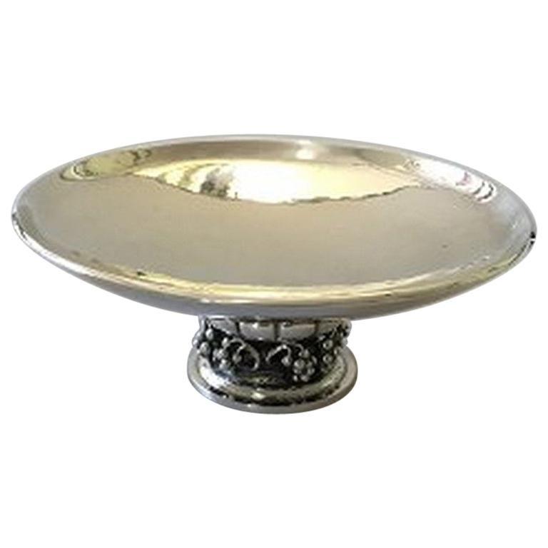 Georg Jensen Sterling Silver Bowl #296E For Sale