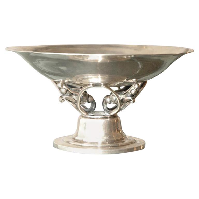 Georg Jensen Sterling Silver Bowl For Sale