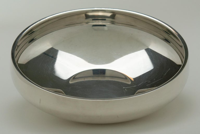 Modern Henning Koppel - Sterling Silver Bowl, Model No. 1132B - Georg Jensen, Denmark  For Sale