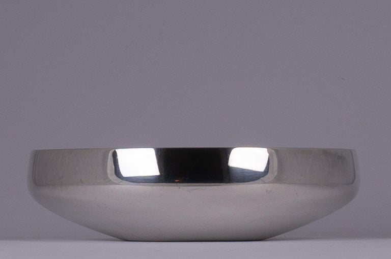 Henning Koppel - Sterling Silver Bowl, Model No. 1132B - Georg Jensen, Denmark  For Sale 4