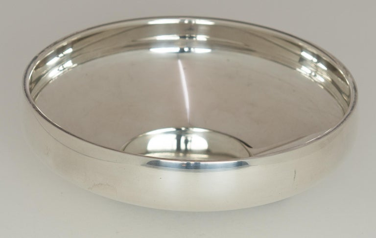 Henning Koppel - Sterling Silver Bowl, Model No. 1132B - Georg Jensen, Denmark  In Fair Condition For Sale In EL Waalre, NL