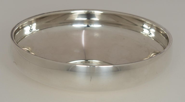 Women's or Men's Henning Koppel - Sterling Silver Bowl, Model No. 1132B - Georg Jensen, Denmark  For Sale