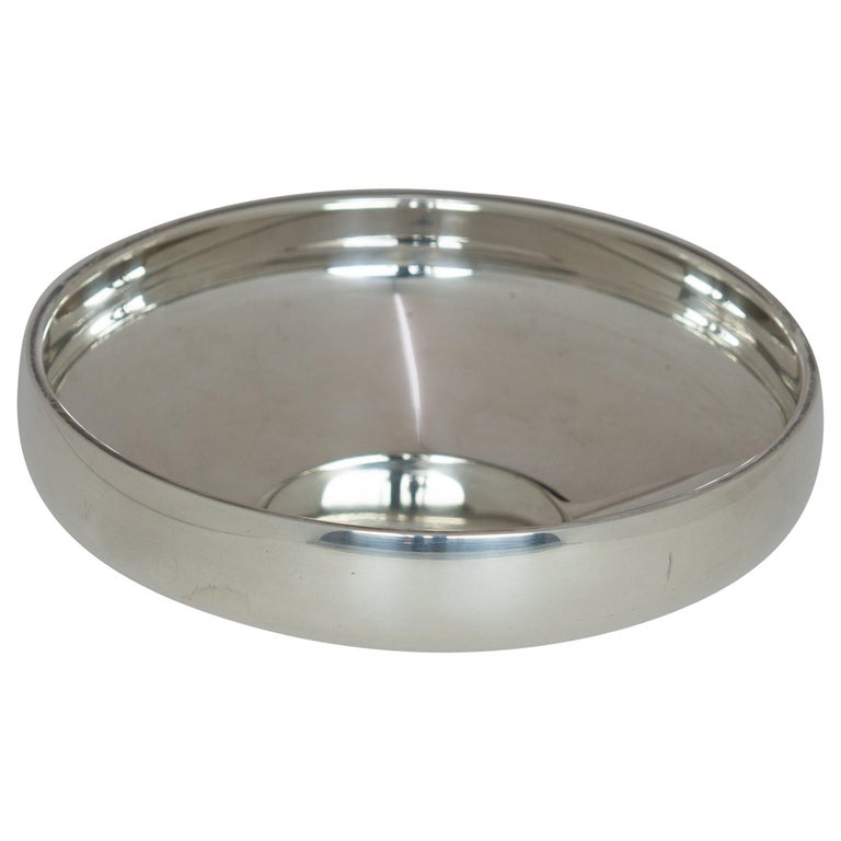 Henning Koppel - Sterling Silver Bowl, Model No. 1132B - Georg Jensen, Denmark  For Sale