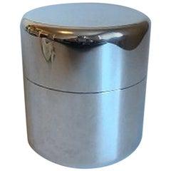 Georg Jensen Sterling Silver Bowl with Lid / Box by Jorgen Møller #1304