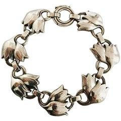 Georg Jensen Sterling Silver Bracelet No 100B
