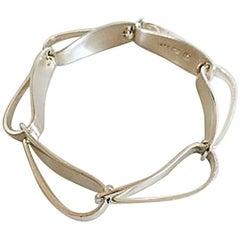 Georg Jensen Sterling Silver Bracelet No 187