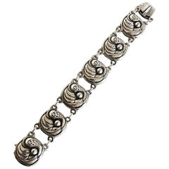 Georg Jensen Sterling Silver Bracelet No 19
