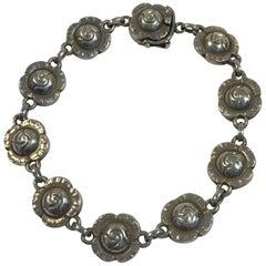 Georg Jensen Sterling Silver Bracelet No 44.