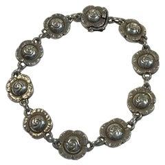 Georg Jensen Sterling Silver Bracelet No 44