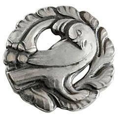 Georg Jensen Sterling Silver Brooch #134
