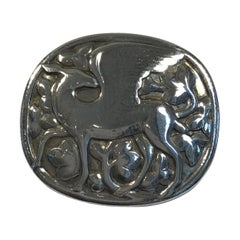 Georg Jensen Sterling Silver Brooch No 81