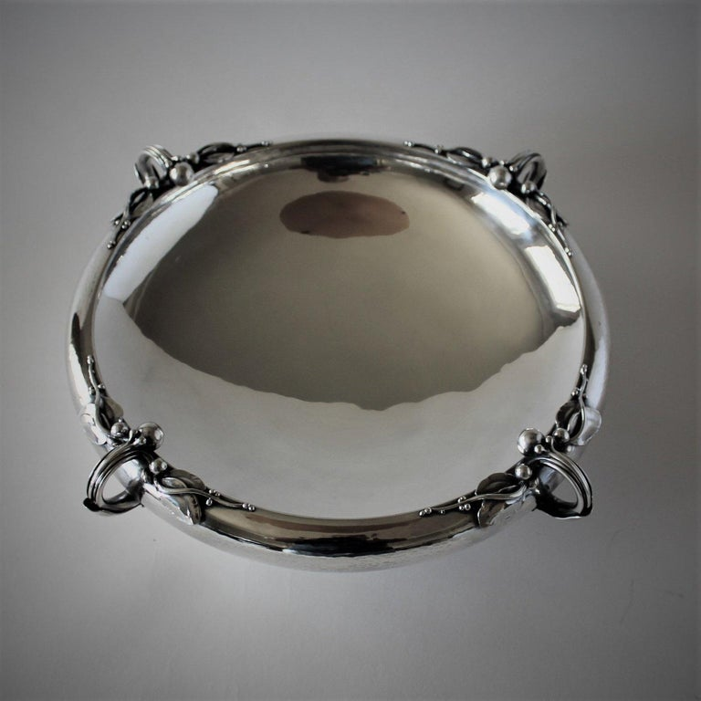 Danish Georg Jensen Sterling Silver Centerpiece Bowl No. 625A For Sale