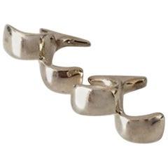 Georg Jensen Sterling Silver Cuff Links No 214