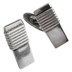 Georg Jensen Sterling Silver Cufflinks No 80