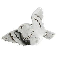 Georg Jensen Sterling Silver Dove Brooch No. 320
