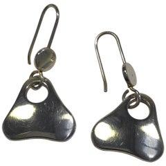 Georg Jensen Sterling Silver Earrings No 463 B