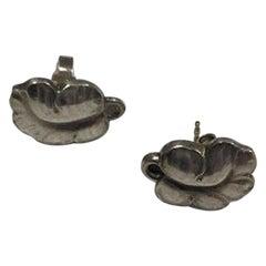 Georg Jensen Sterling Silver Earrings 'Studs' No 50B