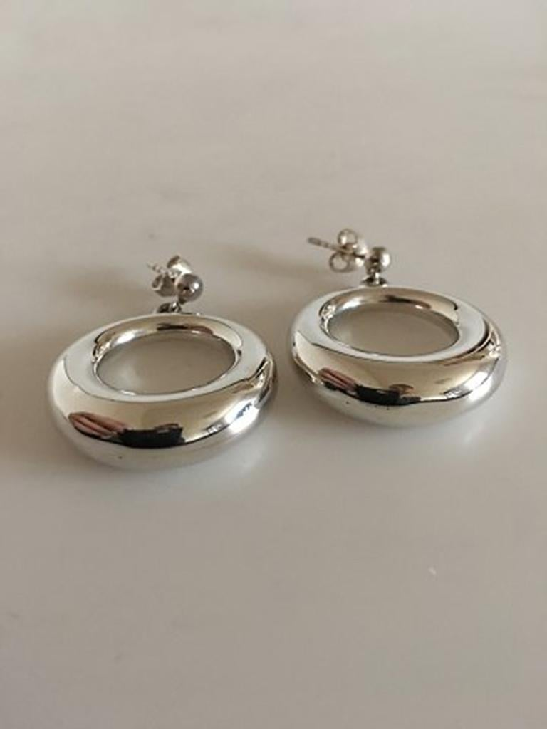 georg jensen sterling silver earsticks no 199 for sale at. Black Bedroom Furniture Sets. Home Design Ideas
