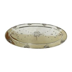 Georg Jensen Sterling Silver Fish Tray with Drainer No 230A
