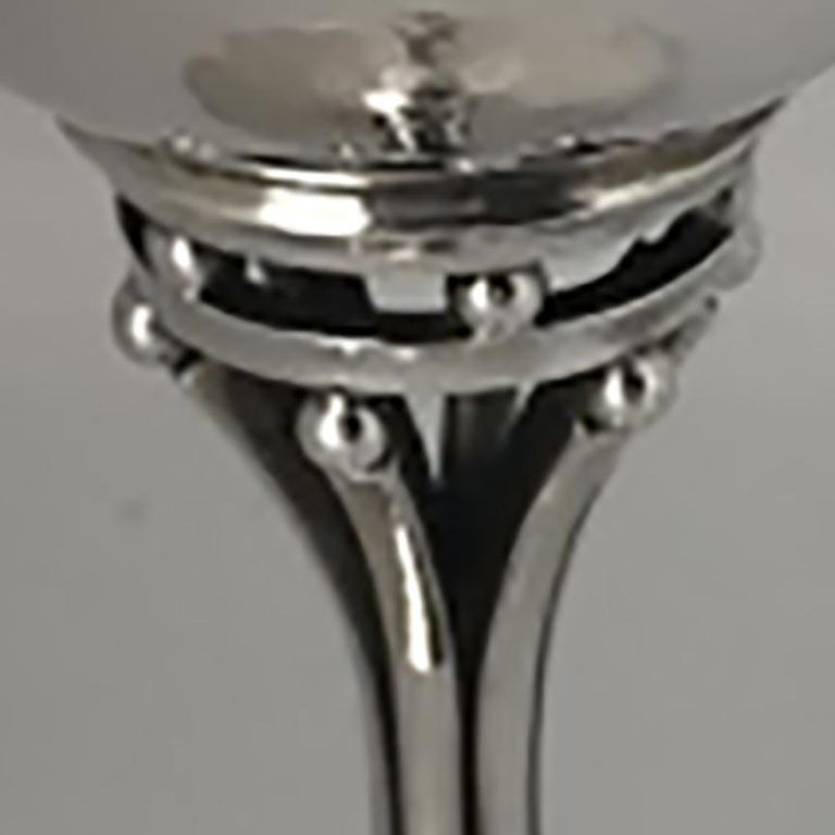 Danish Georg Jensen Sterling Silver Goblet, No. 532C For Sale