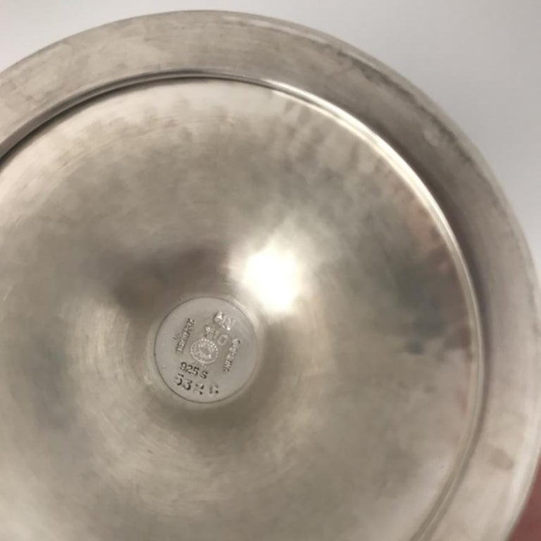 Georg Jensen Sterling Silver Goblet, No. 532C In Good Condition For Sale In San Francisco, CA