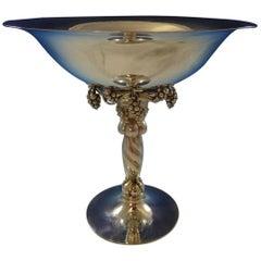 Georg Jensen Sterling Silver Grape Centerpiece No. 264b Hand Hammered