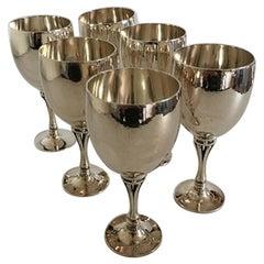Georg Jensen Sterling Silver Harald Nielsen Wine Goblet No 532B 'white wine'