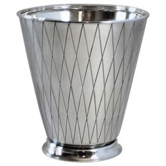 Georg Jensen Sterling Silver Ice Bucket, No. 819 by Sigvard Bernadotte