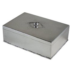 Georg Jensen Sterling Silver Keepsake Box, No.329