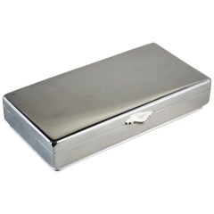 Georg Jensen Sterling Silver Keepsake Box, No.962 by Søren Georg Jensen