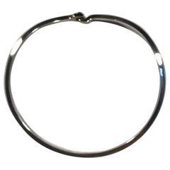 Georg Jensen Sterling Silver Neck Ring No A21B