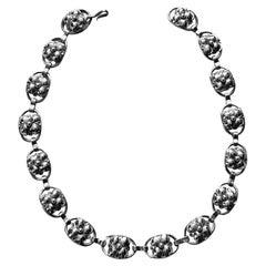 Georg Jensen Sterling Silver Necklace, American, C.1940