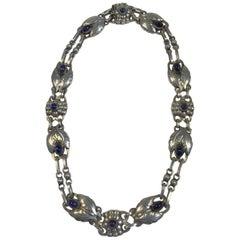 Georg Jensen Sterling Silver Necklace No 1