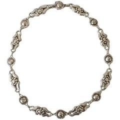 Georg Jensen Sterling Silver Necklace No 10