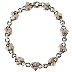 Georg Jensen Sterling Silver Necklace No 103A