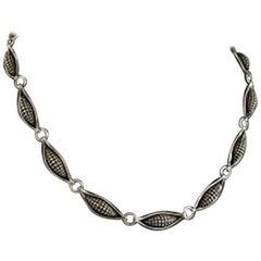 Georg Jensen Sterling Silver Necklace No 425 Designed by Lene Munthe