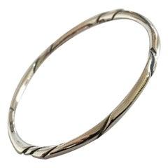 Georg Jensen Sterling Silver Ole Kortzau Bracelet No 333