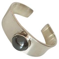 Georg Jensen Sterling Silver Paul Hansen Cuff Bracelet #188