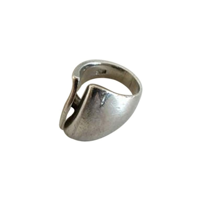 Georg Jensen Sterling Silver Ring