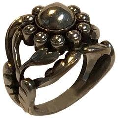 Georg Jensen Sterling Silver Ring No. 10