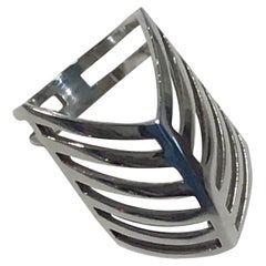 Georg Jensen Sterling Silver Ring No. 289 Nanna Ditzel