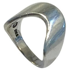 Georg Jensen Sterling Silver Ring No A77A