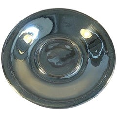 Georg Jensen Sterling Silver Sauce Plate for Cup or Lidded Box No 444