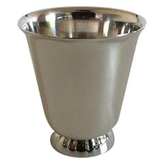 Georg Jensen Sterling Silver Sigvard Bernadotte Cup, from after 1945